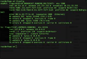 "Debian 9 ""ifconfig"" installieren"
