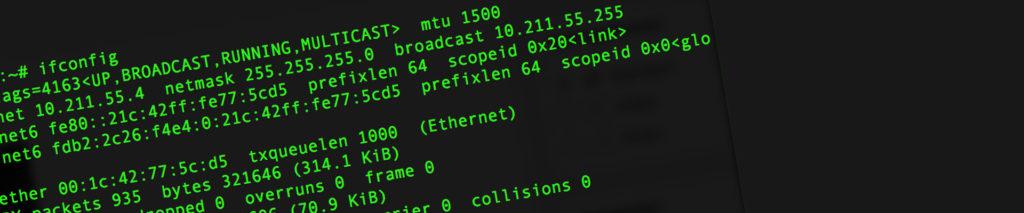 """Debian 9 """"ifconfig"""" fehlt"""