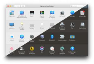 macOS Mojave Dark Mode aktivieren