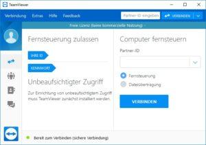 TeamViewer nur im LAN verbinden