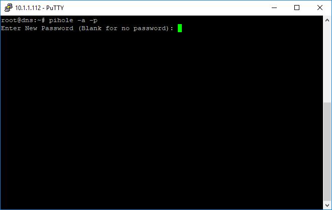 Pi-Hole Passwort reset