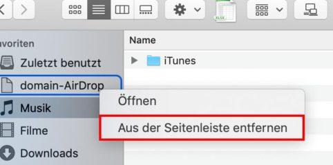"""Lösung: """"domain-AirDrop"""" konnte nicht geöffnet werden"""