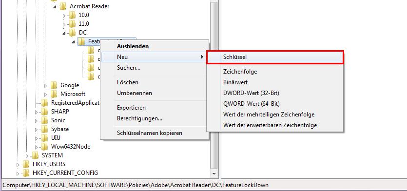 Adobe Reader SharePoint auschecken deaktivieren